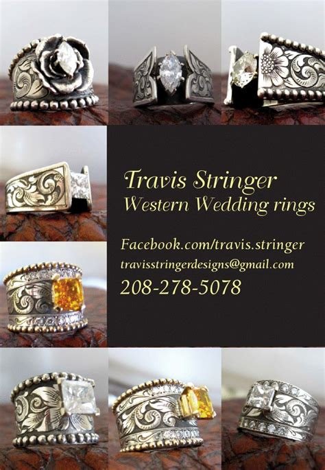 travis stringer western wedding rings western wedding rings by travis stringer 208 278 5078