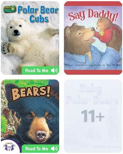 Bears Children Books Type