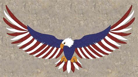 eagle applique free pattern freedom eagle aqs