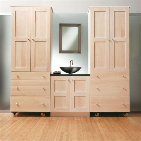 unfinished wood storage cabinets bathroom storage cabinet need more space to put bath