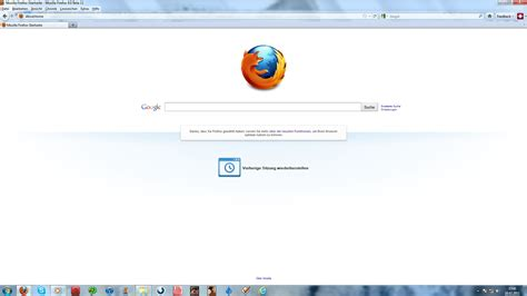 firefox abouthome page