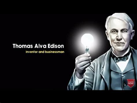 thomas alva edison birthday tribute youtube