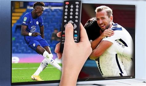 What TV channel is Tottenham vs Chelsea in Carabao Cup ...