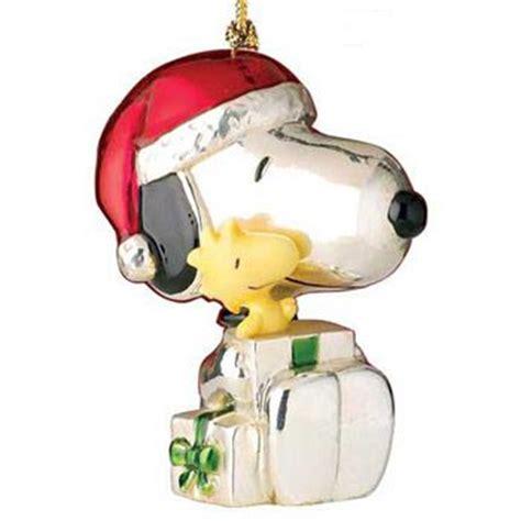 snoopy christmas surprise  lenox