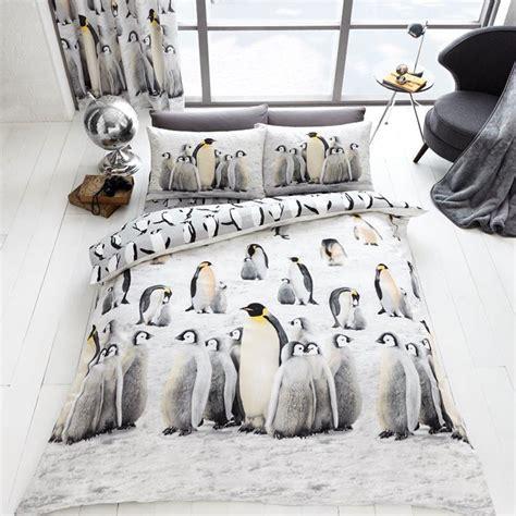 Kiren Pinguin Set penguin bedding 3d penguins king size duvet cover set