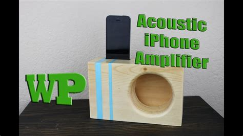 acoustic iphone amplifier youtube