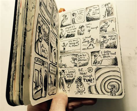 Musings On Keeping A Sketchbook Journal