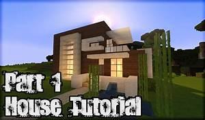 Minecraft House Tutorial - Minecraft Wooden Plank House #1 ...