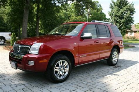 how to fix cars 2008 mercury mountaineer regenerative braking find used 2008 mercury mountaineer premier awd v8 in west point virginia united states for us