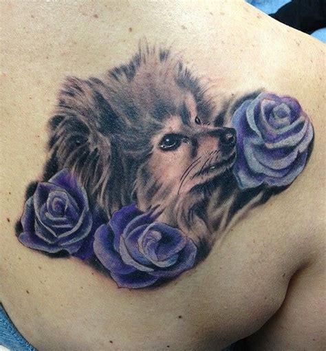 coolest pomeranian tattoo designs   world