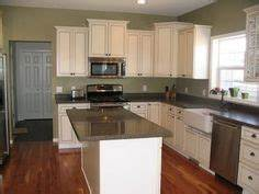 kitchen laundry on pinterest white cabinets sage With best brand of paint for kitchen cabinets with never stop exploring wall art