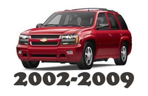 old cars and repair manuals free 2006 chevrolet ssr electronic throttle control 2002 2009 chevrolet trailblazer service repair workshop manual download 2002 2003 2004 2005 2006