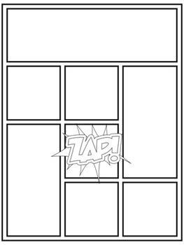 I haven't been able to find them anywhere else, so i really appreciate these. Comic Book and Graphic Novel Templates by Winged One | TpT
