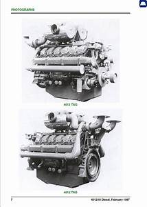 Perkins 4012  4016 Series Vee
