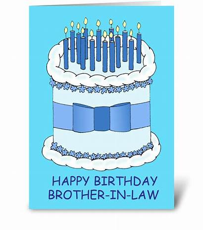 Brother Birthday Law Happy Card Cake Cards