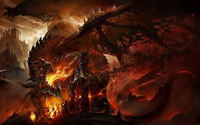 Fire Dragon Fantasy Wings Wallpapers Dragons Background