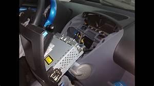 Toyota Aygo Radio Removal Autoradio Ausbauen Einbauen