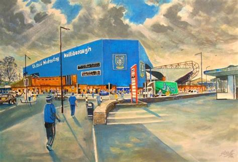 Hillsborough Stadium Fine Art Sheffield Wednesday FC ...