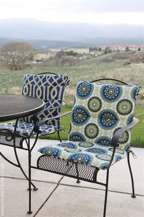 patio cushion covers furniture winsome cushion covers for patio chairs how to