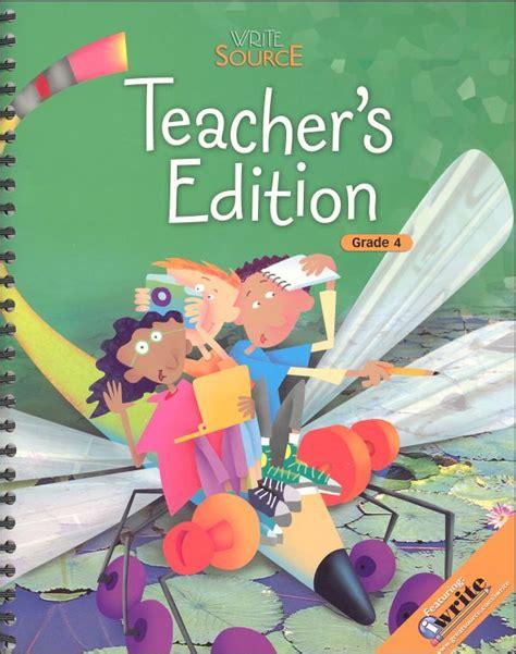 Write Source (2006) Teacher's Ed Grade 4 (035869) Details  Rainbow Resource Center, Inc