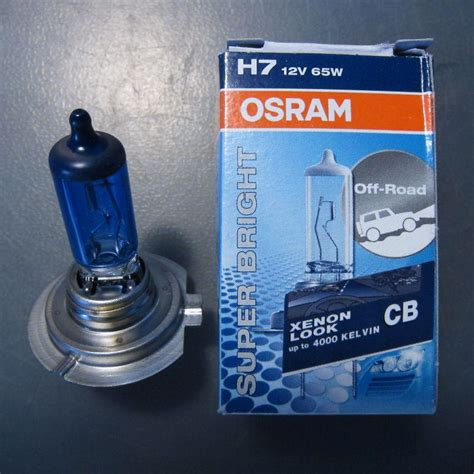 osram cool blue h7 purchase 10x osram sylvania 64217 h7 65w 12v px26d 4000k cool blue halogen headlight l