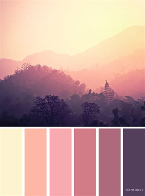 mauve sky inspired color palette color inspiration