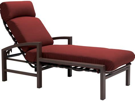 chaise alu tropitone lakeside cushion aluminum chaise 730532