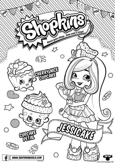 shopkins season  chef club season coloring pages printable