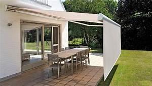 Lambrequin Store Banne : store terrasse avec lambrequin d roulable brustor ~ Melissatoandfro.com Idées de Décoration