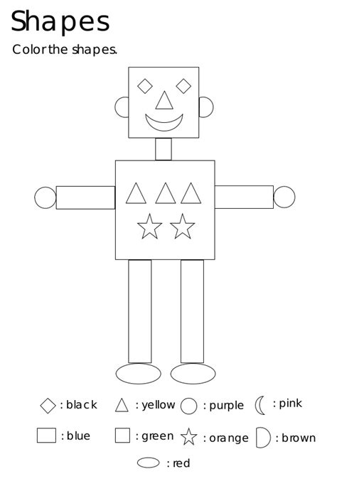 kindergarten shapes esl worksheets kindergarten best