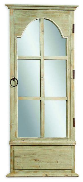 floor mirror houzz french tarragon modern wood door leaner mirror traditional floor mirrors by the classy home