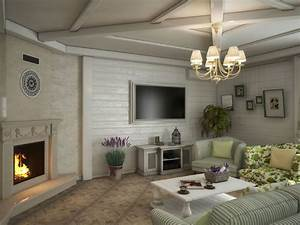 Bright, Seaside, Style, Modern, Home, Interior