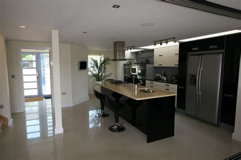 lighting for small kitchens what colour of floor for black white kitchen 7044