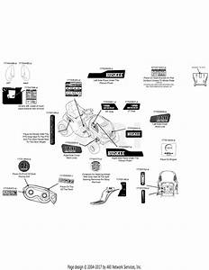 Mtd 13w277ss031 Lt 4200  2015  Parts Diagram For Label Map