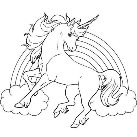 pin  sulene kuisis  coloring pictures unicorn