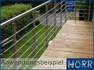 Geländer Mit Seil : edelstahl querstabhalter 42 4 x 12mm traversenhalter v2a gel nder f llung ~ Markanthonyermac.com Haus und Dekorationen