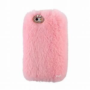Cozy Fur Phone Case Pink – VelvetCaviar.com
