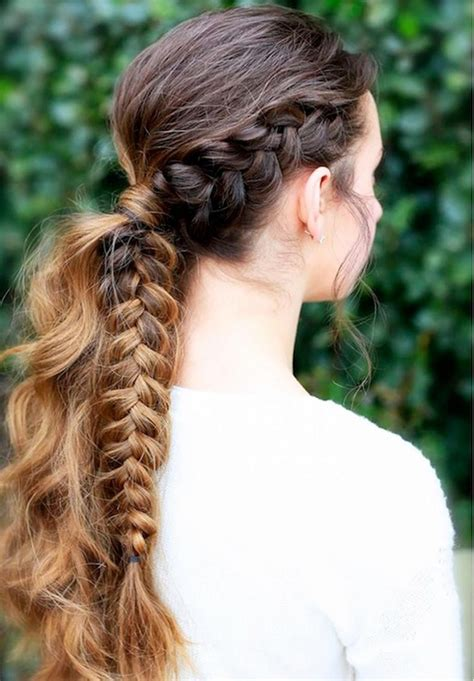 Braided Ponytail Hairstyles For by Braids Cut Paste De Moda