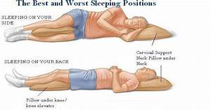 tips for sleeping with a bad back fashionmommy39s blog With best way to sleep for neck