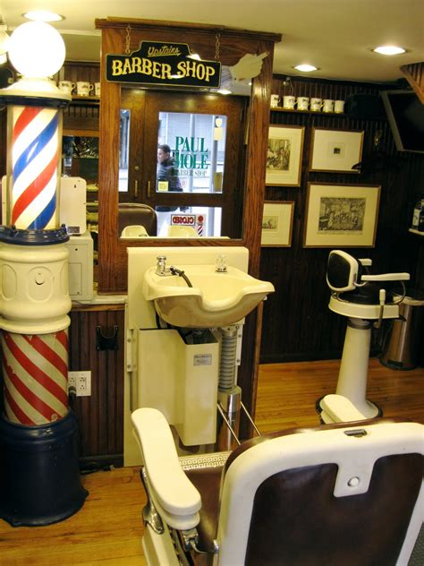 mitch broders vintage  york paul mole barber shop