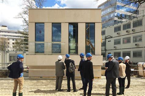 siege social banque populaire un prototype de façade pour le siège social de la casden