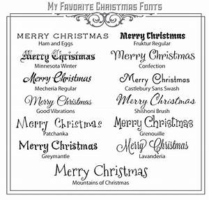Christmas Fonts - MIKE PEZZONI   Graphic/Web Designer and ...