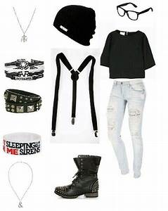 Emo outfits, Outfits for school and Suspenders on Pinterest