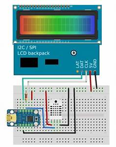 Standard Lcd 16x2   Extras  White On Blue  Id  181