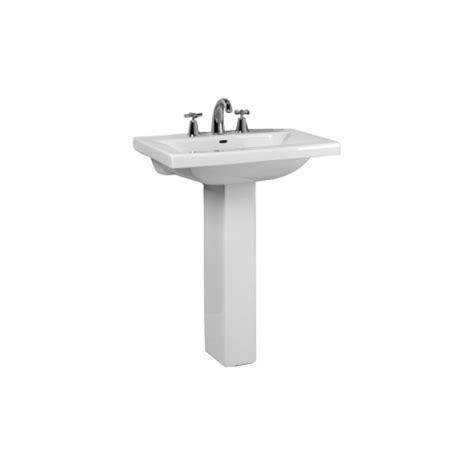 barclay pedestal sink compact 450 barclay 3 274wh mistral mistral 650 vitreous china