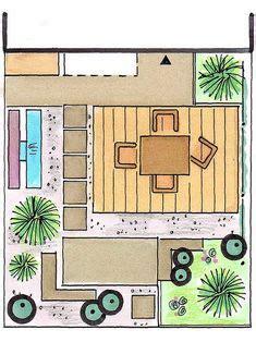 Kleiner Garten Grosse Wirkung In 3 Schritten Zum Traumgarten by نموذج فلة دور واحــد مساحة الأرض 300 متر مربع مساحة