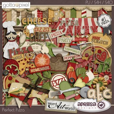 scrapbooking cuisine 38 best digital scrapbook kits food and drink images on