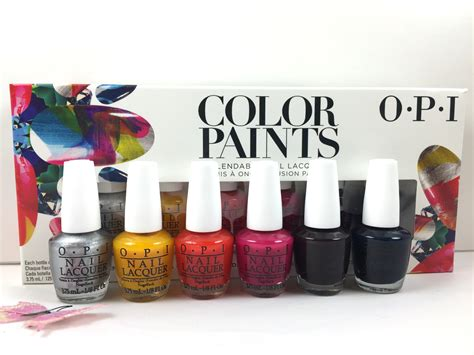opi nail lacquer color paints gel nails