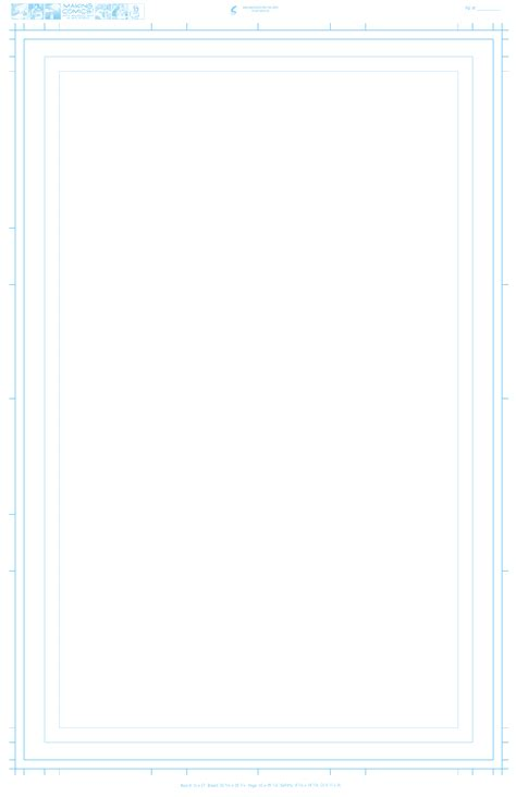 Comic Book Standard 8 5 X 11 Template by Page Aspect Ratios Templates Making Comics