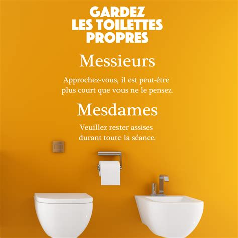foto de Affiche Toilette Propre Humour Humourew